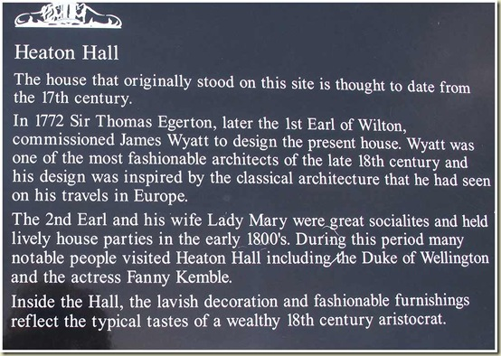 Information about Heaton Hall