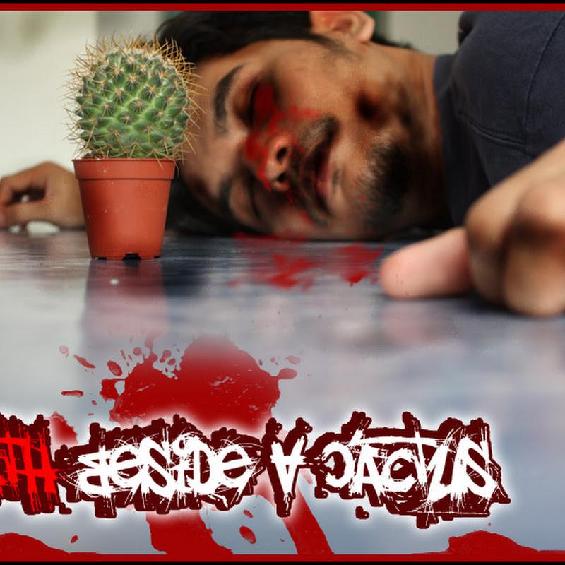 Death beside a cactus