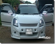 2008 suzuki swift modified