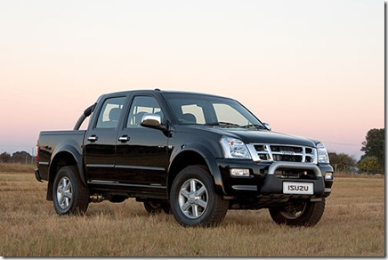 isuzu dmax pick up truck