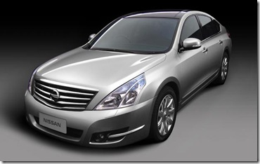 new nissan teana 2009 india launch