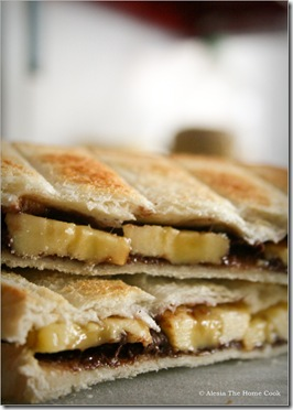 Banana&Choco Toasties8