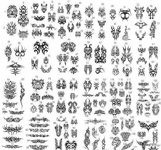 tatuaje dibujo. dibujos para tatuajes tribales