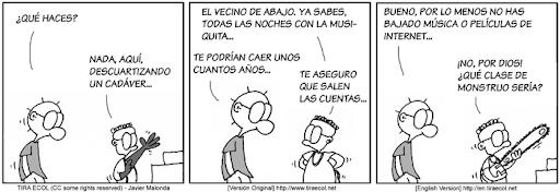 Tira Ecol - Relatividad General