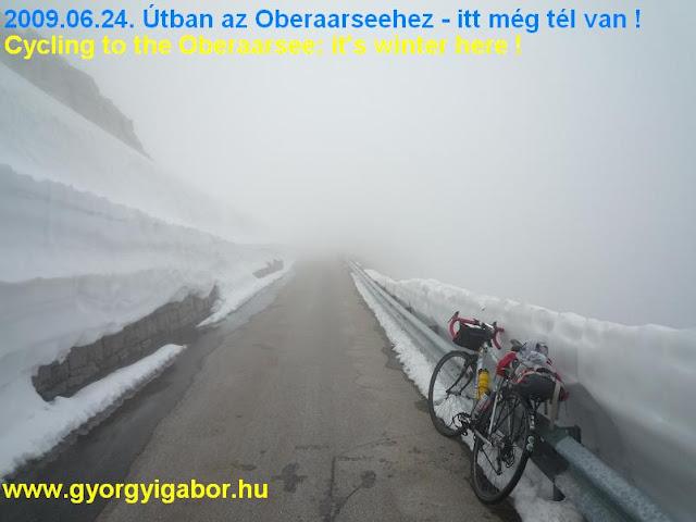 Oberaarsee ascent