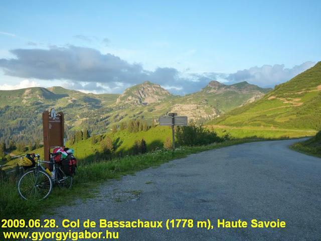 Col de Bassachaux 1778 m