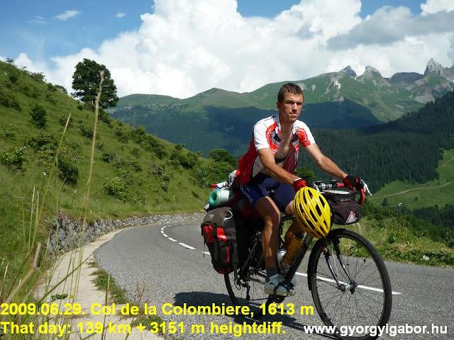 Col de la Colombiere & Gábor Györgyi