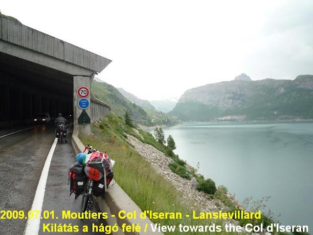 Col d'Iseran ascent,  Lac du Chevril