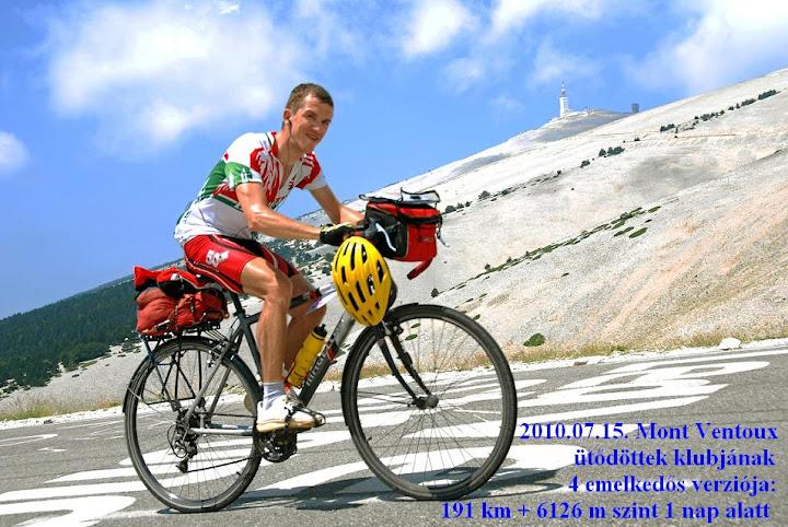 Györgyi Gábor a Mont Ventoux-n