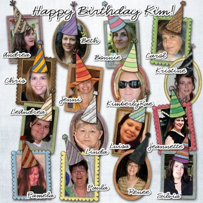 Kim CT and Friends Layout