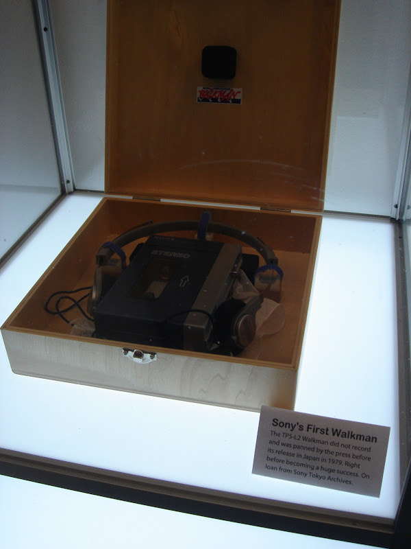 Sony's first walkman