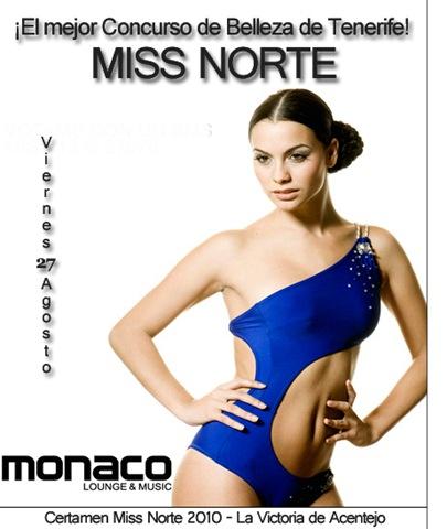 Certamen Miss Norte 2010 - La Victoria de Acentejo - Fecha