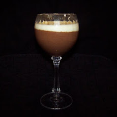 Guinness Black and White Chocolate Mousse