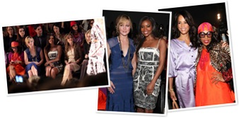View Celebs Spotted at Tracey Reese show