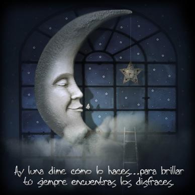 Los  escaparates de la luna