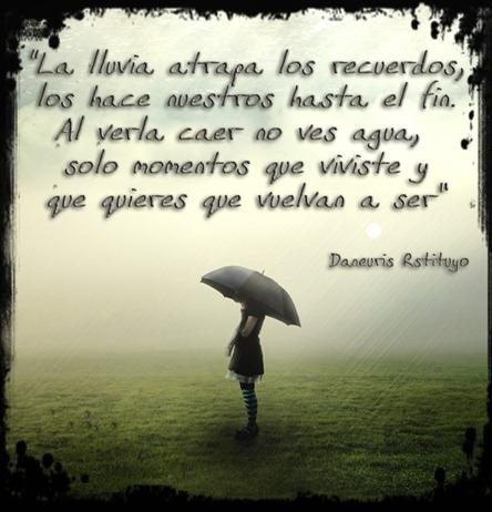 lluvia y recuerdos