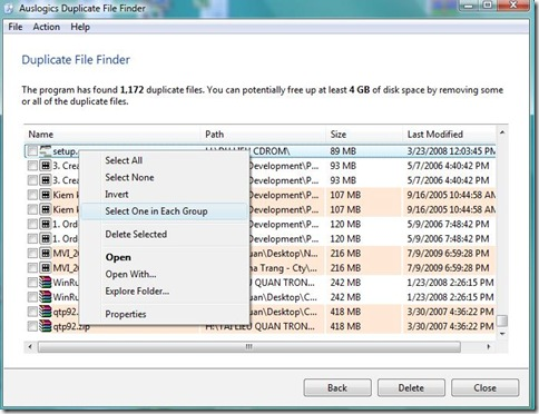 Auslogics Duplicate File Finder 3