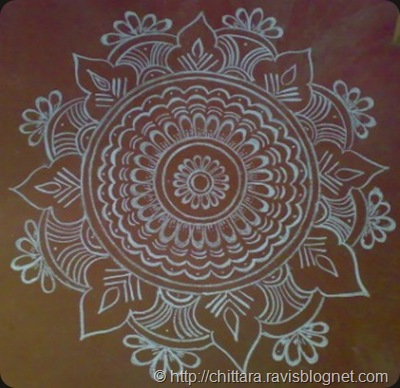 Diwali rangoli design drawing chittara rangoli pattern for Floor rangoli design