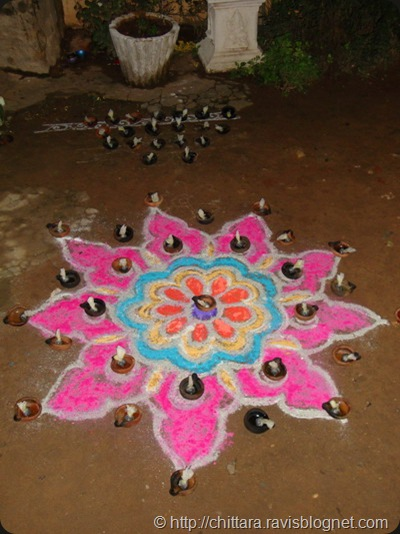 Karthika_Pooja_rangoli_2