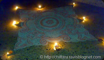 Rangoli_Red_Deepam_3