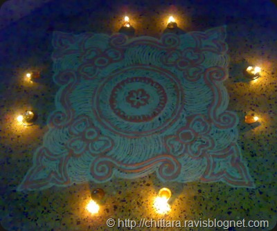 Rangoli_Red_Deepam_7