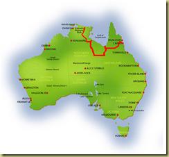 Australia Map Kakadu