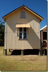 Building protected from termites