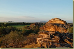 Sunset at Ubirr