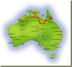 Australia Map Broome