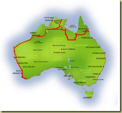 Australia Map Albany
