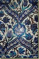 Tiles in Saladin Tomb