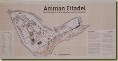 Amman Citadel Plan
