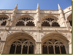 Cloister Carving