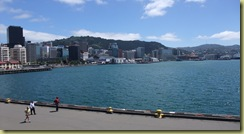 Wellington Harbourside