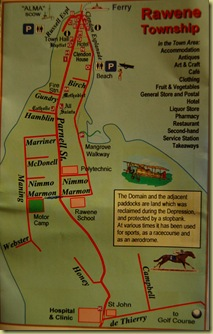 Rawene Map