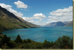 Lake Wakatipu and Remarkables