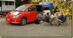 Van with Tent 2