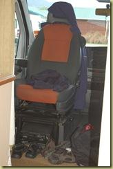 Van fornt seat