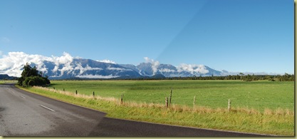 Southern Alps from the West