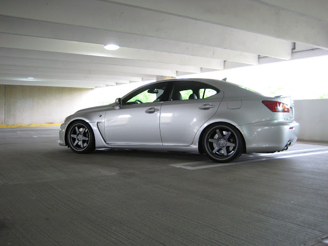 IS-F with TE37 and Tein H-tech - ClubLexus - Lexus Forum ...