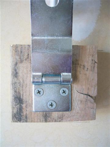 Folding Workbench - Hasp
