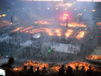 El Aventurero en el estadio de Francia | L'aventurier dans le Stade de France