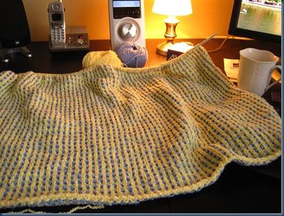 baby blanket 11-24-09