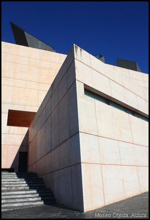 Vista del Museo Oteiza en Alzuza