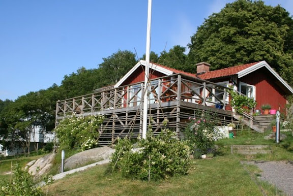 Vrt hus Juni 2009