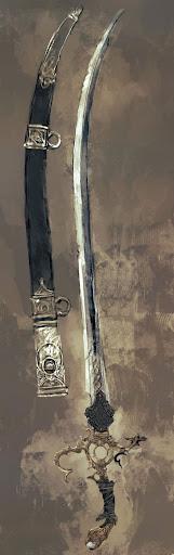 Armand Blackwood - Abaddon Pop-arabian-sword
