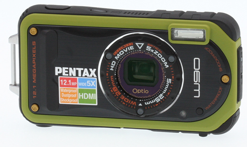 Pentax Optio W90 digital camera
