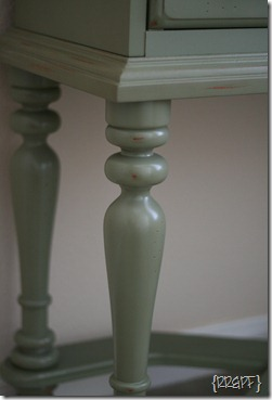 entry table_close up