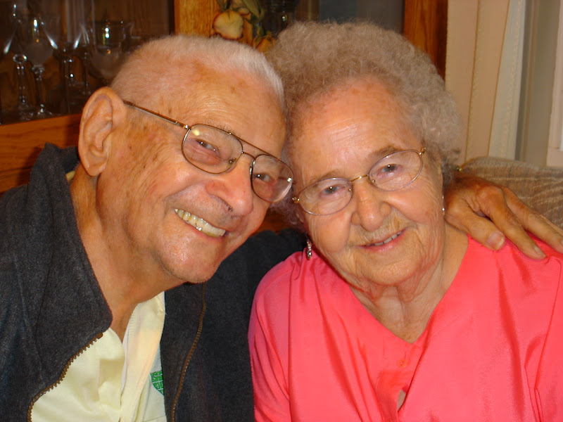 My Grandparents, July 2008