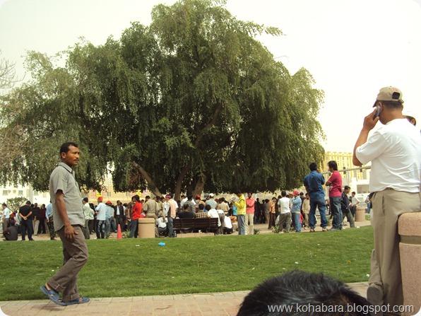 दोहा (कतार) मा नेपालीहरुको लागि - एउटा खुल्ला मंच (तरबार गेटको सानो पार्क)